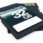 Comparativa tarjetas SD