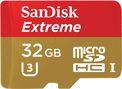Tarjeta micro SD 32 GB Sandisk Extreme U3