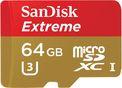 Tarjeta micro SD 64 GB Sandisk Extreme U3